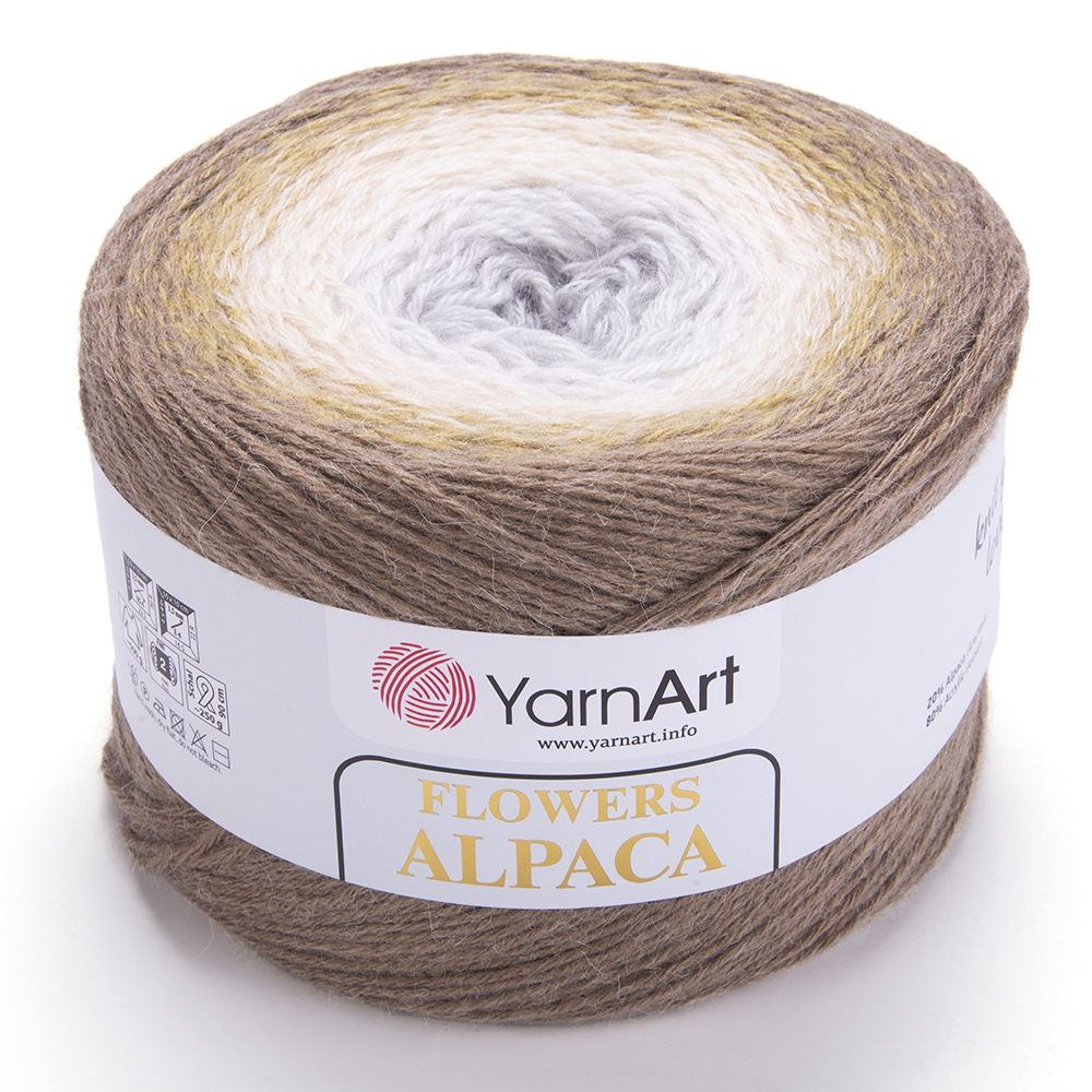 Flowers Alpaca – 407