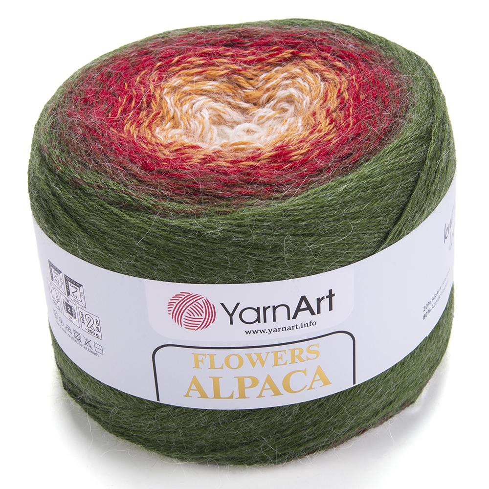 Flowers Alpaca – 420