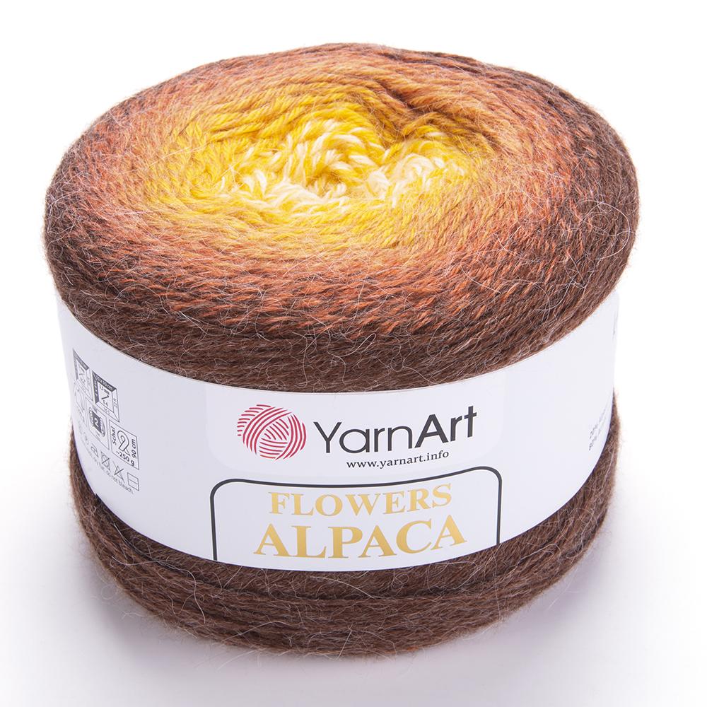 Flowers Alpaca – 437