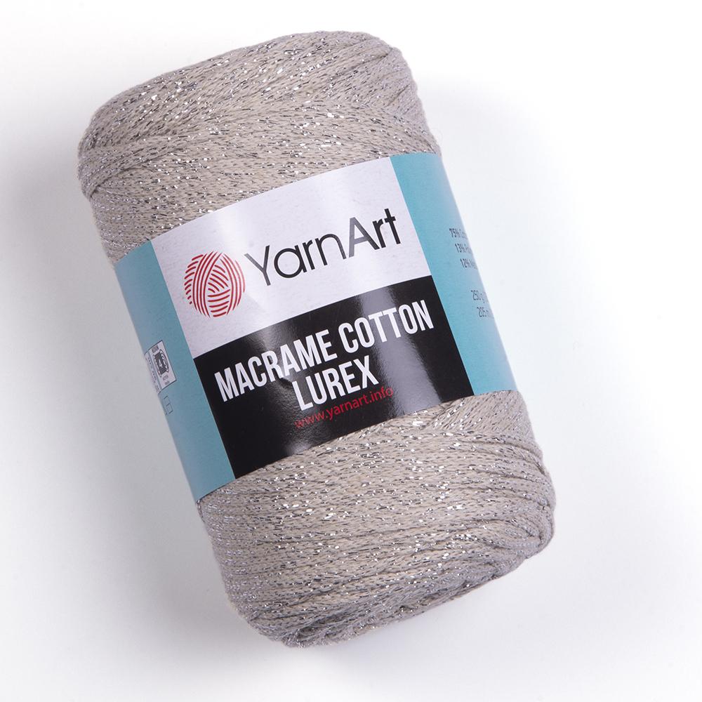 Macrame Cotton Lurex – 725