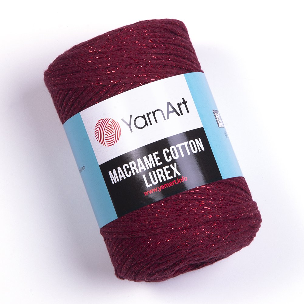 Macrame Cotton Lurex – 739