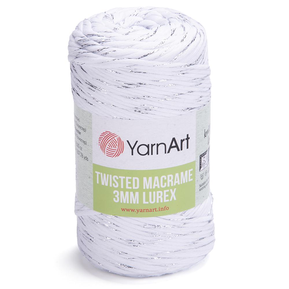 Twisted Macrame  3 MM  Lurex – 751